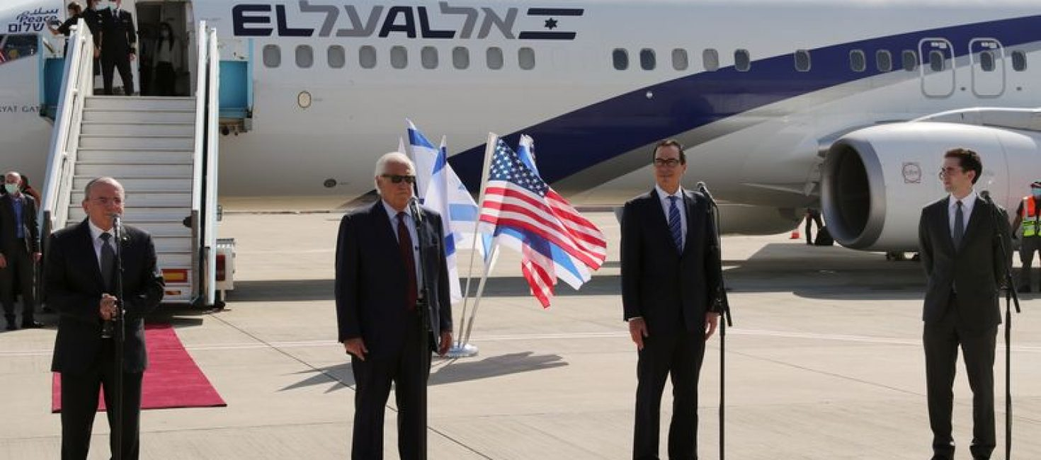 Trump envoy hopes Israeli-Arab peace deals will continue whatever the U.S. election result