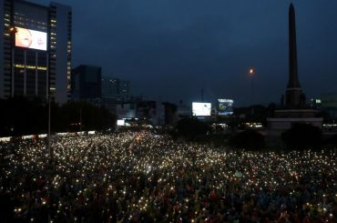 Thai police seek probe of media over protests: document