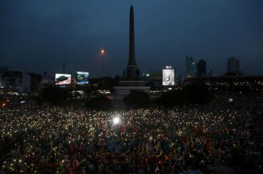 Thai police order media probes over protest coverage