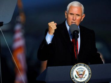 Long in Trump's shadow, Vice President Mike Pence set to emerge