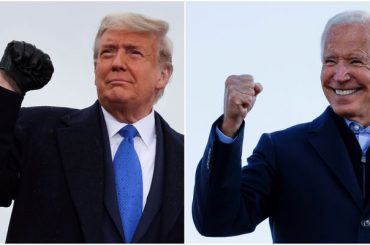 Trump touted the economy; the economy voted for Biden