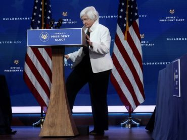 Treasury nominee Janet Yellen to say U.S. does not seek weaker dollar: WSJ