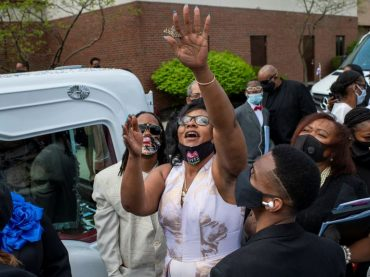 At funeral of Black teen shot by Ohio police in melee, eulogies, appeals for unity
