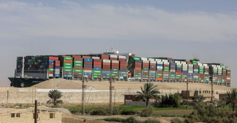 Insurer of ship that blocked Suez Canal says reduced claim still high