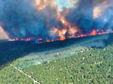 Dire fire warnings issued in wake of record heatwave in Canada, U.S