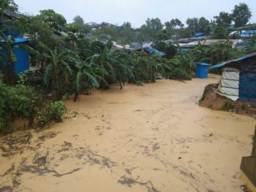 'This is like a nightmare': Thousands displaced as floods hit Bangladesh Rohingya camps