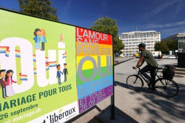Swiss look set to accept same-sex marriage in referendum