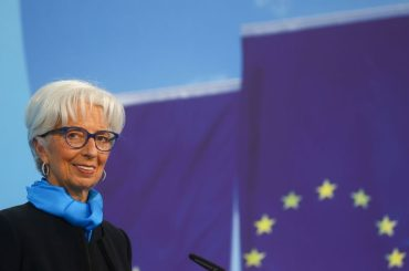 """""""Inflation, inflation, inflation"""" still seen as temporary, Lagarde says"""